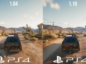 《赛博朋克 2077》1.1 版 PS4 实机对比:画面清晰度明显提升