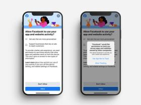 Facebook 测试消息推送功能,告知用户苹果隐私设置更改