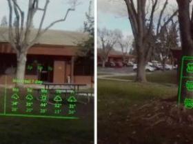 当AR遇上隐形眼镜,是时候赋予你的眼睛超能力了