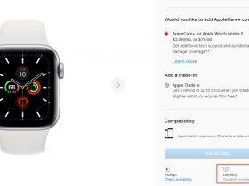 Series 6 发布在即?苹果 Apple Watch Series 5 多数型号无法购买