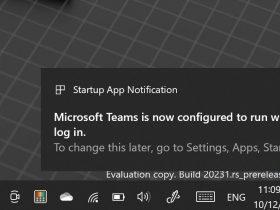 Win10 新增自启动应用提醒功能,避免系统变慢